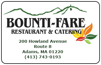 Bounti-Fare Restaurant Gift Cards<br>Adams, MA