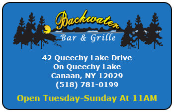Backwater Bar & Grille Gift Cards<br>Canaan, NY