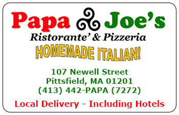 Papa Joe's Ristorante & Pizzeria Gift Cards<br>Pittsfield, MA