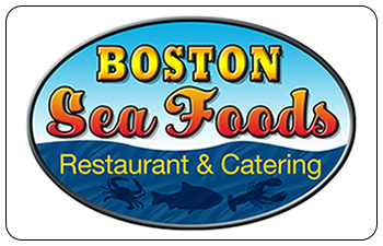 Boston Sea Foods Restaurant & Catering Gift Cards<br>North Adams, MA