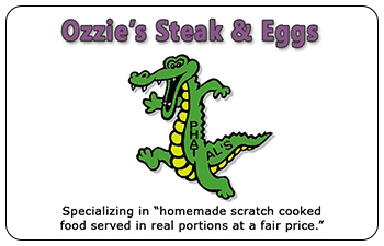 Ozzie's Steak & Eggs Restaurant Gift Cards<br>Hinsdale, MA