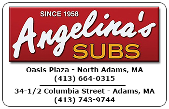 Angelina's Sub Shops Gift Cards<br>Adams & North Adams, MA